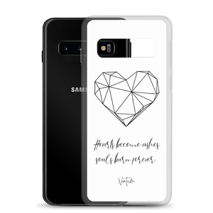 Load image into Gallery viewer, Hearts - White Samsung