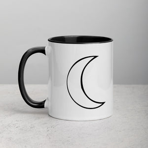 Moon - Mug w. Drawing