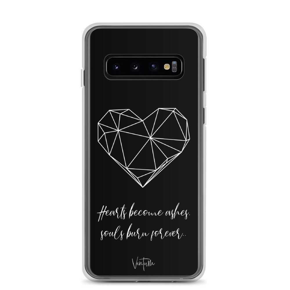 Load image into Gallery viewer, Hearts - Black Samsung