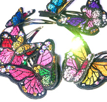 Load image into Gallery viewer, Beautiful Butterfly Clips x 2