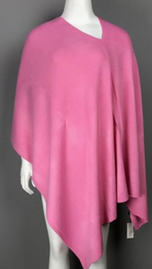 Hot Pink Acrylic Poncho
