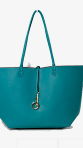 Reversible Turquoise Bag