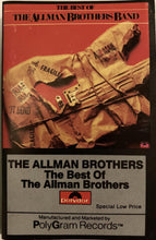 Load image into Gallery viewer, Allman Brothers - Best Of CASSETTE TAPE VG - 3rdfloortapes.com