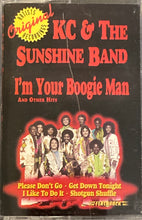 Load image into Gallery viewer, KC and the Sunshine Band - I'm Your Boogie Man Cassette VG