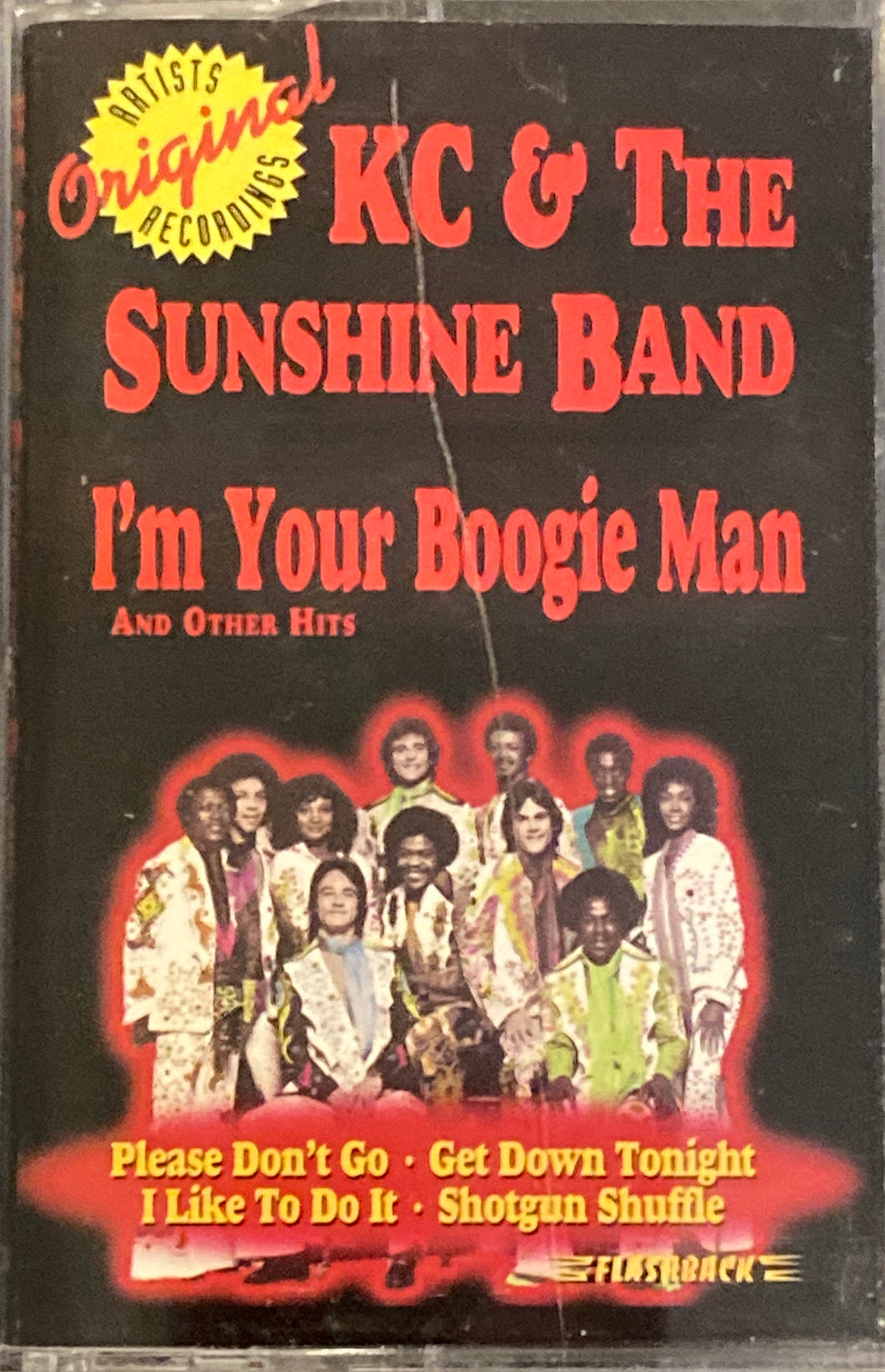 KC and the Sunshine Band - I'm Your Boogie Man Cassette VG