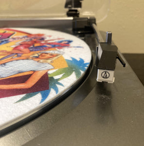 Audio Technics AT LP 60 w/ Jem Slipmat - Used - Works Great!