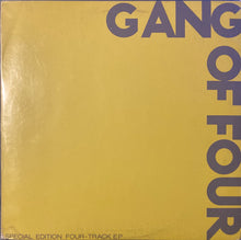 Load image into Gallery viewer, Gang Of Four Special Edition 4Track EP Vinyl G (see photos)