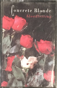 Concrete Blonde - Bloodletting Cassette VG+