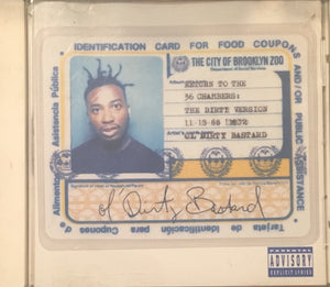 ODB Ol Dirty Bastard Return To The 36 Chambers CD