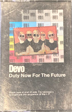 Load image into Gallery viewer, Devo - Duty Now For The Future Cassette VG*see photos