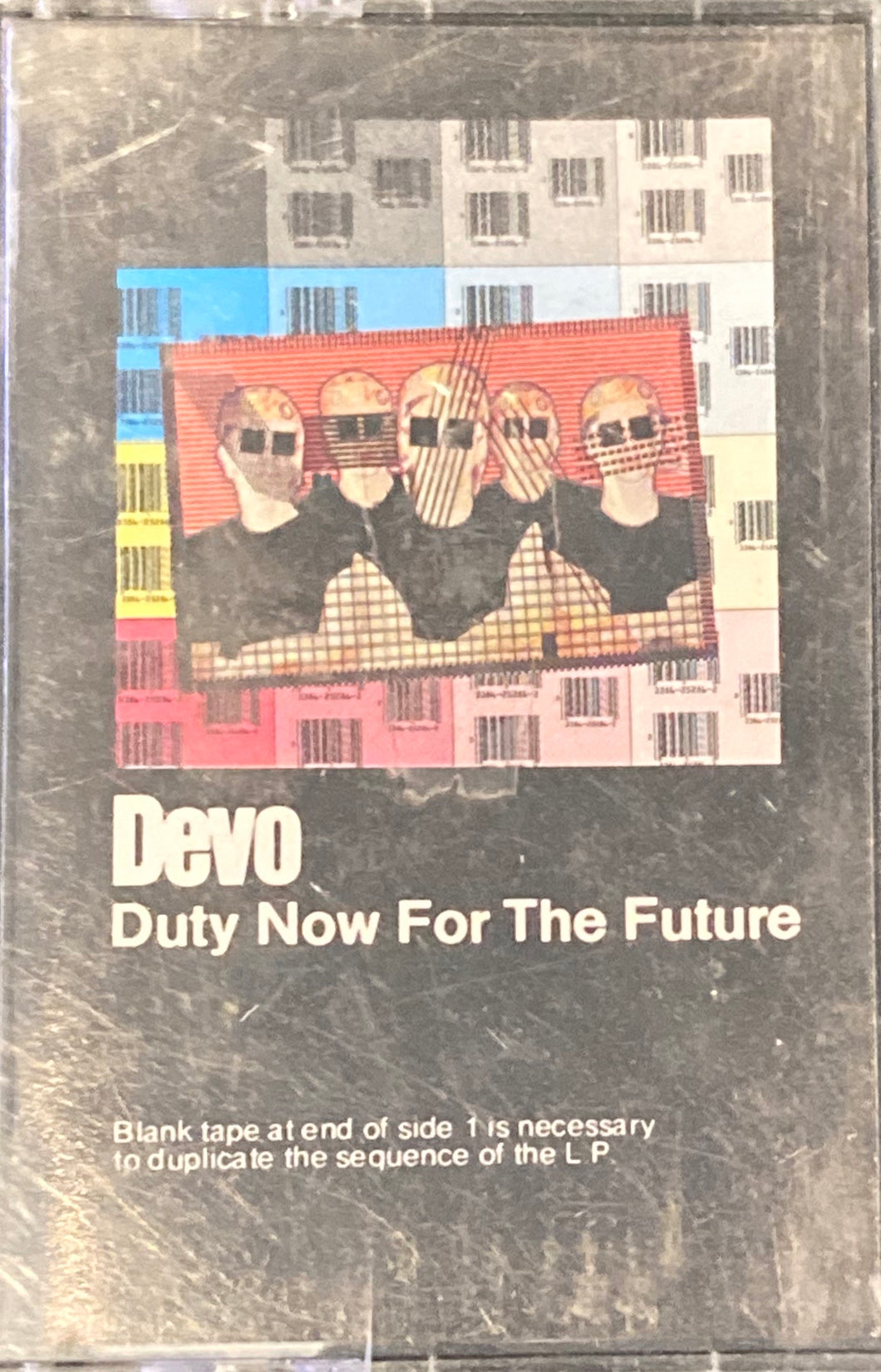 Devo - Duty Now For The Future Cassette VG*see photos
