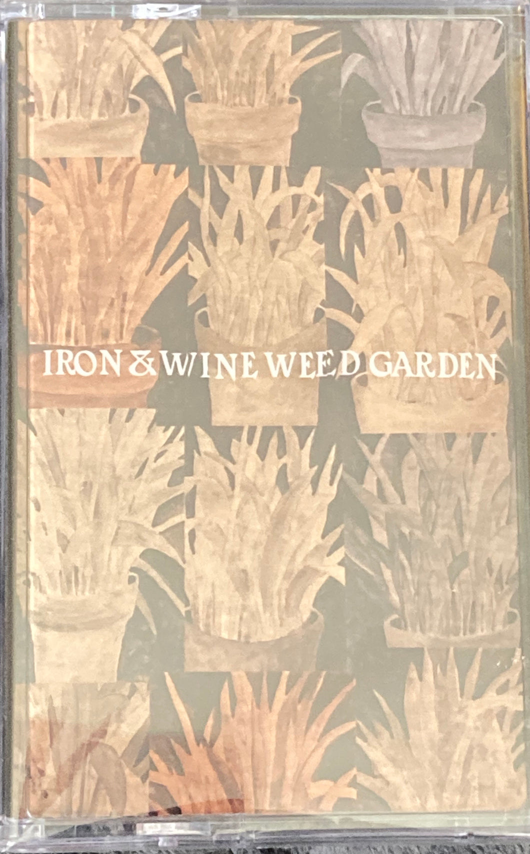 Iron & Wine - Weed Garden Cassette New/sealed