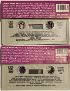 70s Preservation Society Presents: Disco Fever Compilation 2x Cassette VG