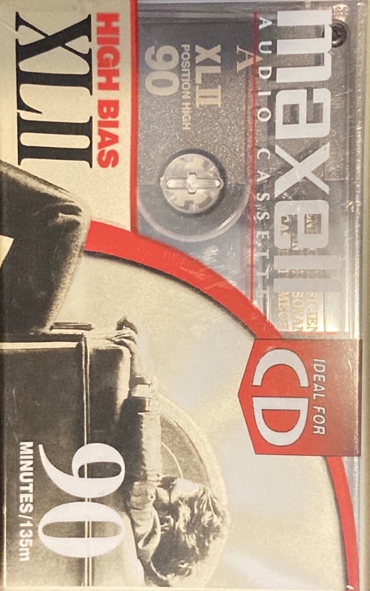 Maxell XLII High Bias 90 Minute Blank Cassette