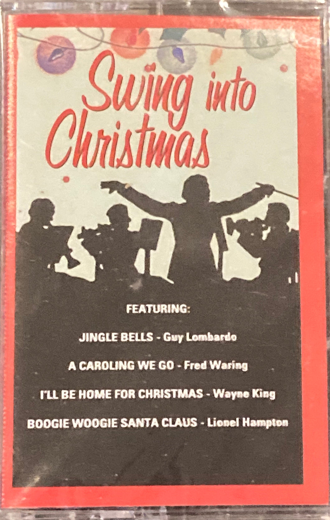 Swing Into Christmas Compilation Cassette MINT