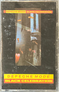 Depeche Mode - Black Celebration Cassette VG