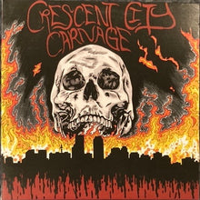 Load image into Gallery viewer, Crescent City Carnage New Orleans Punk + Metal Compilation Vinyl NM-