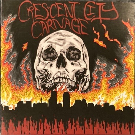 Crescent City Carnage New Orleans Punk + Metal Compilation Vinyl NM-