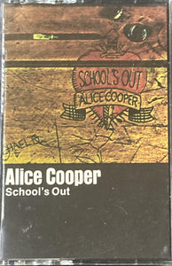 Alice Cooper - School's Out Cassette VG