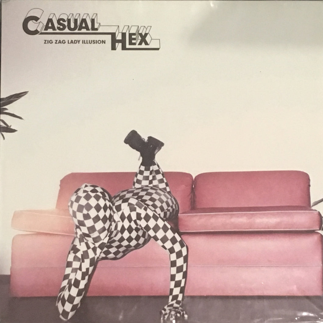 Casual Hex Zig Zag Lady Illusion Vinyl NEW