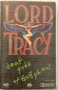 Lord Tracy - Deaf Gods Of Babylon Cassette VG