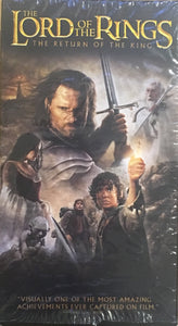 Lord Of The Rings Return Of The King VHS