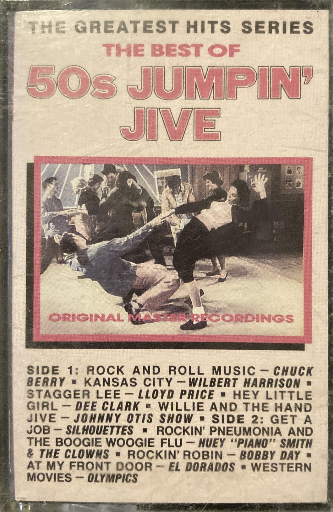 Best of 50's Jumpin' Jive Compilation (tracks in photo) Cassette