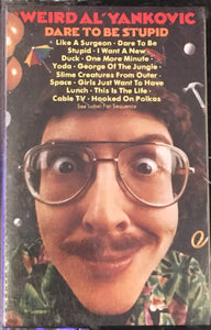 Weird Al Dare To Be Stupid Cassette