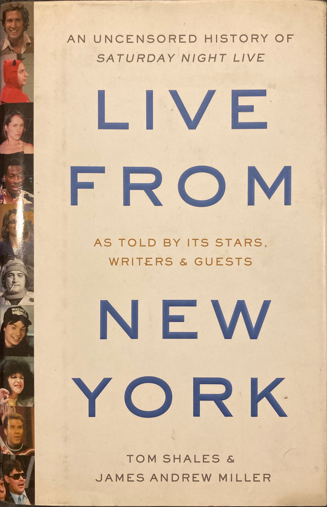 Live From New York Hardcover Book