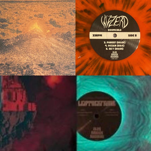 Featured Vinyl Record Combo: LeatherFrank - Dark Forest + Wizzerd - Doomchild (Both on Olde Magick Records)