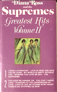 Diana Ross & The Supremes Greatest Hits Vol II