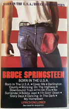 Load image into Gallery viewer, Bruce Springsteen - Born In The USA Cassette VG+