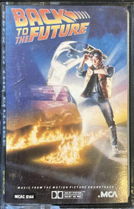 Back To The Future Soundtrack Cassette VG-