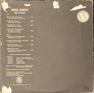 Rare Earth - One World Vinyl Fair/Good