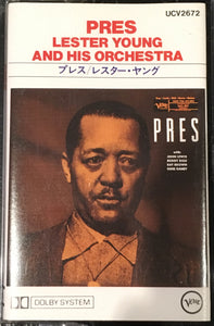 Lester Young And His Orchestra Pres Cassette Vieux