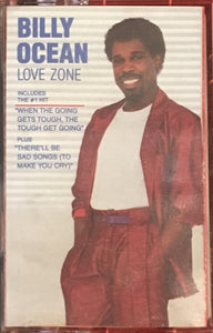 Billy Ocean Love Zone Cassette VG