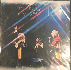 Mott The Hoople Live vinyl