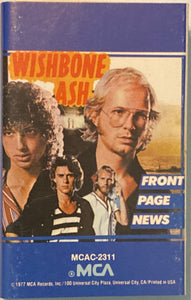 Wishbone Ash - Front Page News (paper labels)  Cassette VG