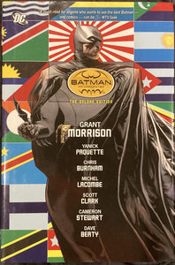 Batman Incorporated Deluxe Hardcover by Grant Morrison Comic