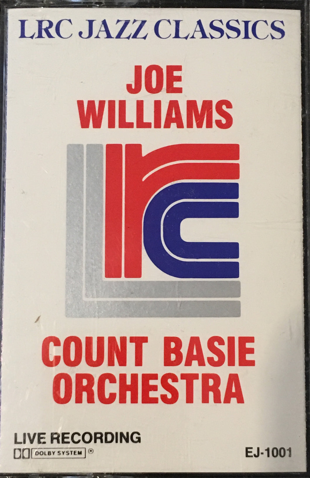 Joe Williams Count Basie Orchestra Cassette