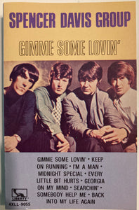 Spencer Davis Group - Gimme Some Lovin' Cassette VG