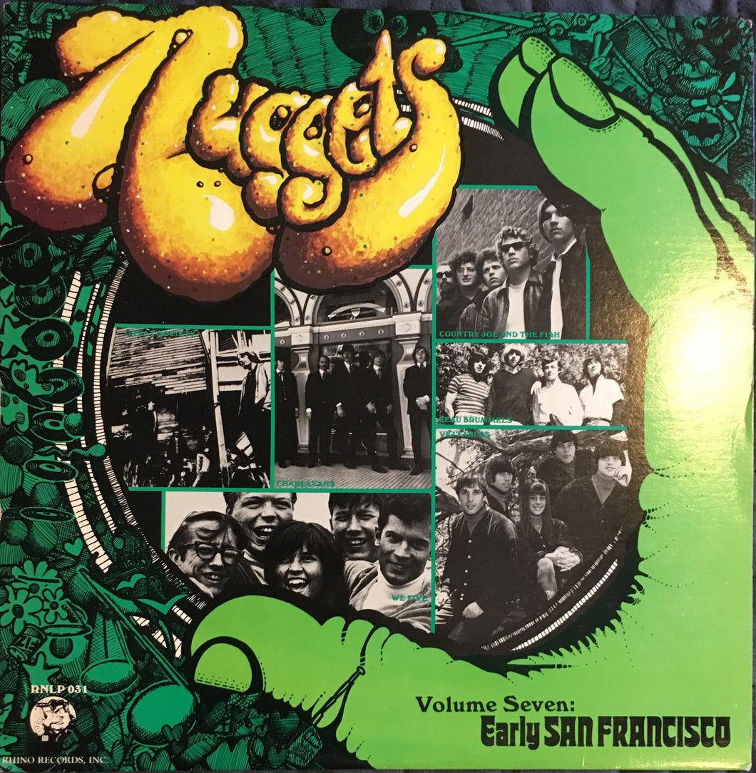 Nuggets Psychedelic Compilation Vinyl Volume Seven Early San Francisco