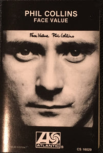 Phil Collins Face Value Cassette