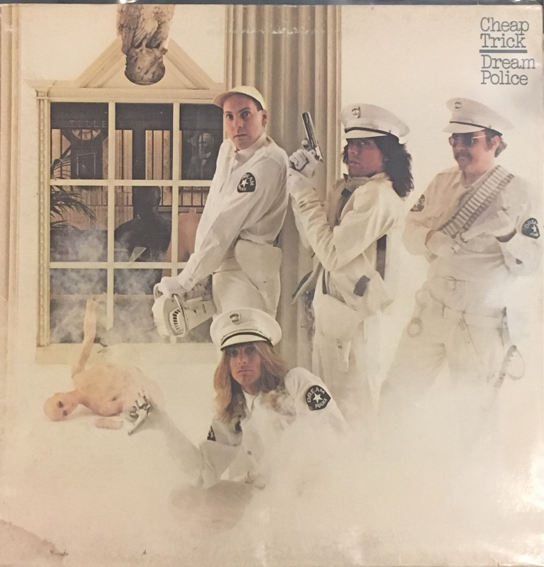 Cheap Trick Dream Police Used Vinyl G+