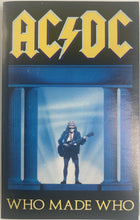 Load image into Gallery viewer, AC/DC - Who Made Who/ Maximum Overdrive Soundtrack Cassette VG