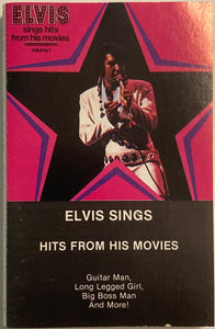 Elvis - Sings Hits From His Movies Cassette VG