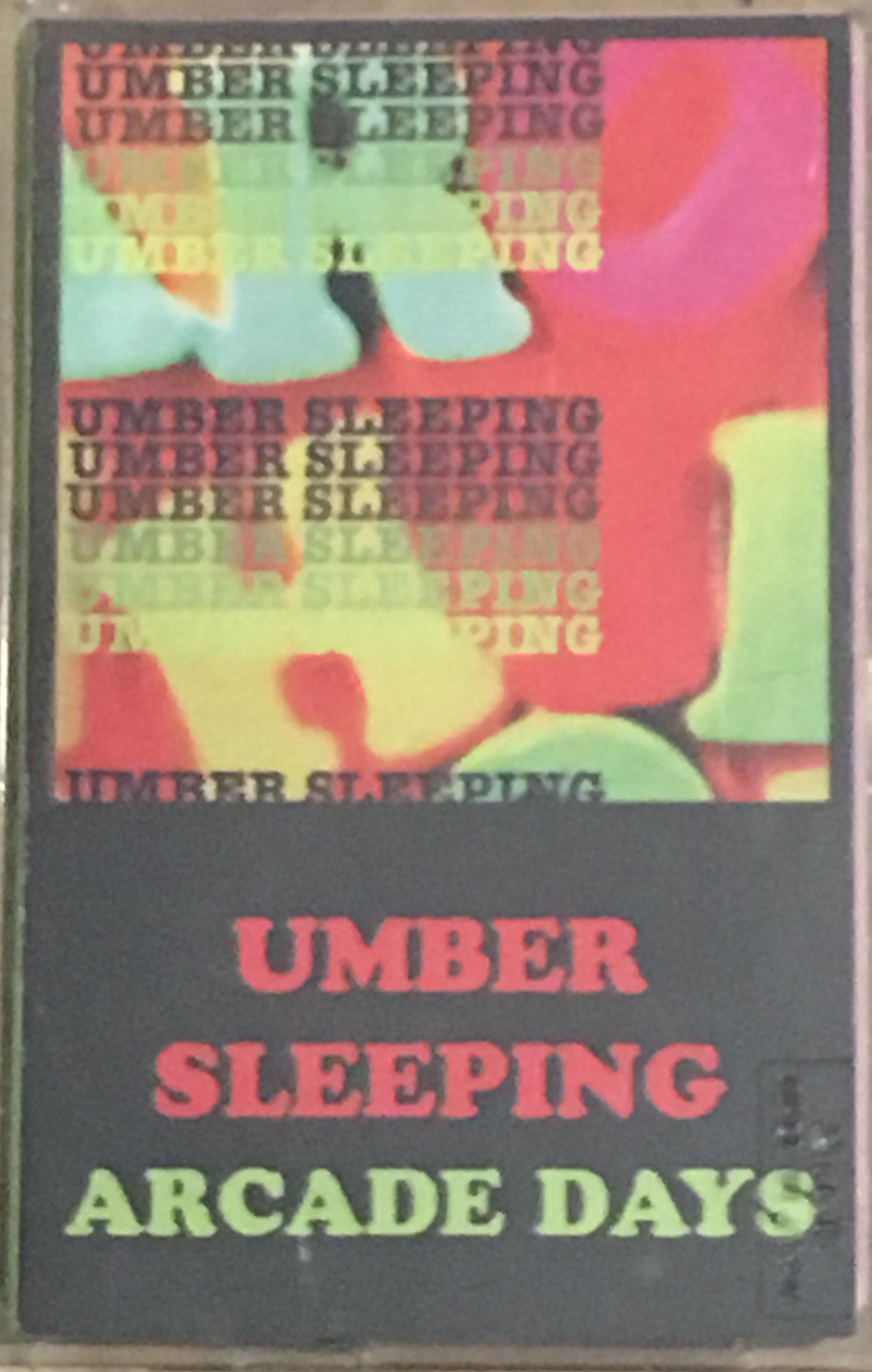 Umber Sleeping Arcade Days Cassette NM