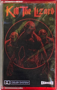 Kill The Lizard - s/t (red shell, Olde Magick) CASSETTE TAPE New/sealed