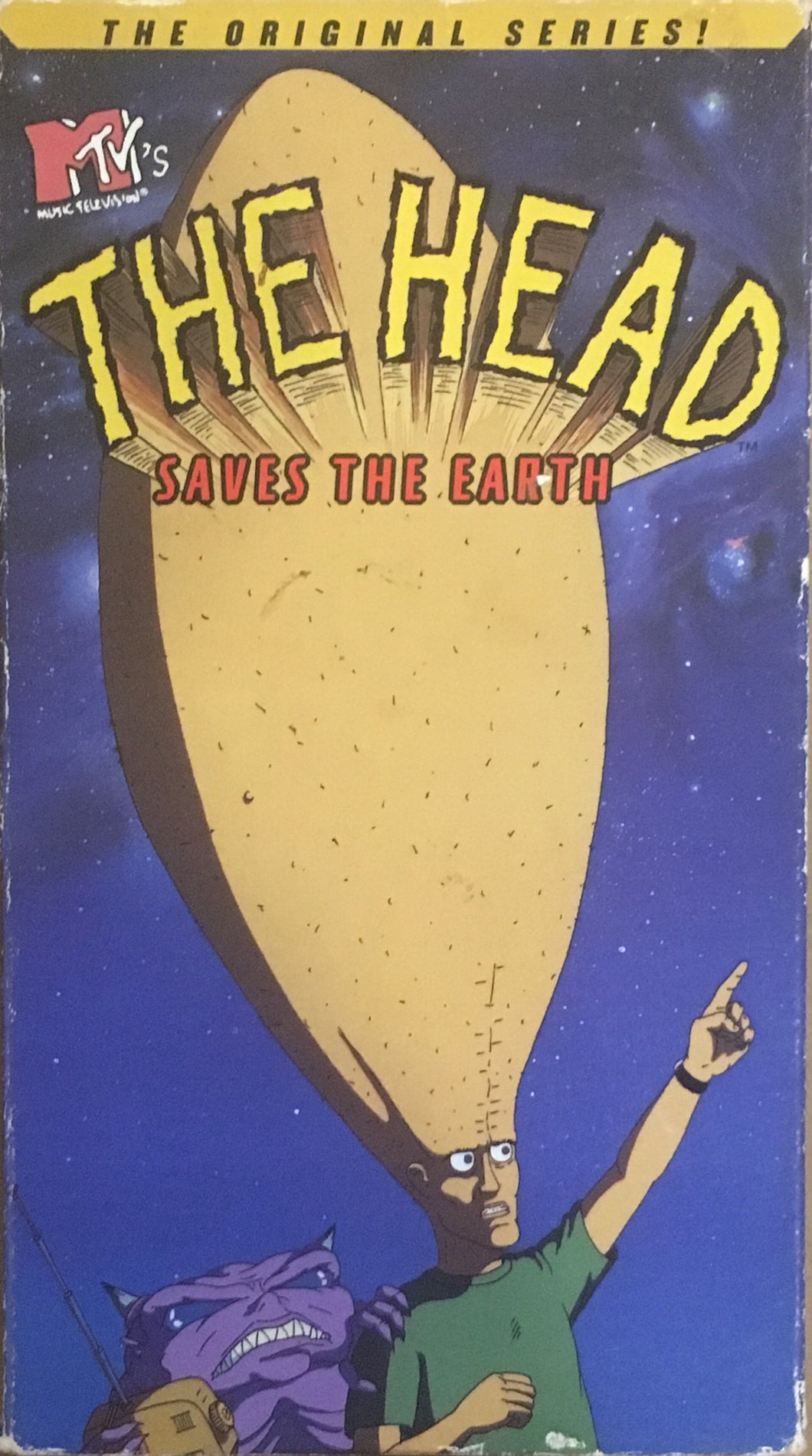 Head, The - Saves The Earth MTV VHS