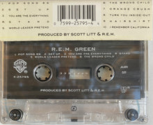 Load image into Gallery viewer, R.E.M. - Green Cassette VG+